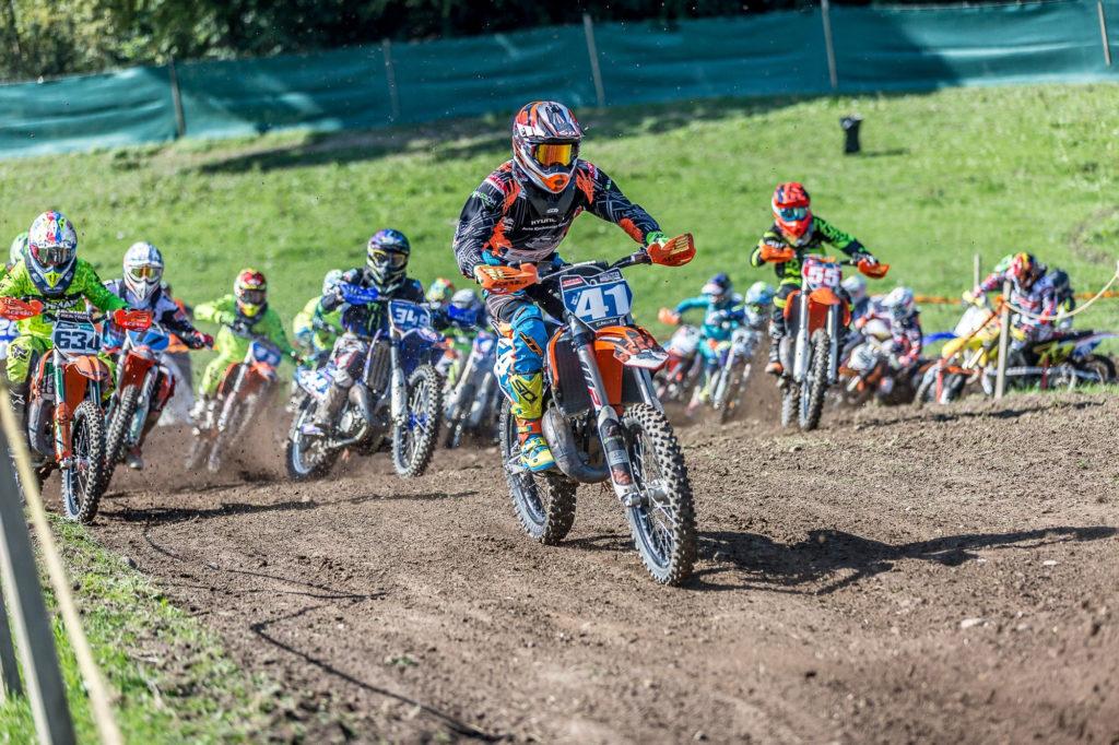 Moritz Baumann beendet Meisterschaft auf Platz drei