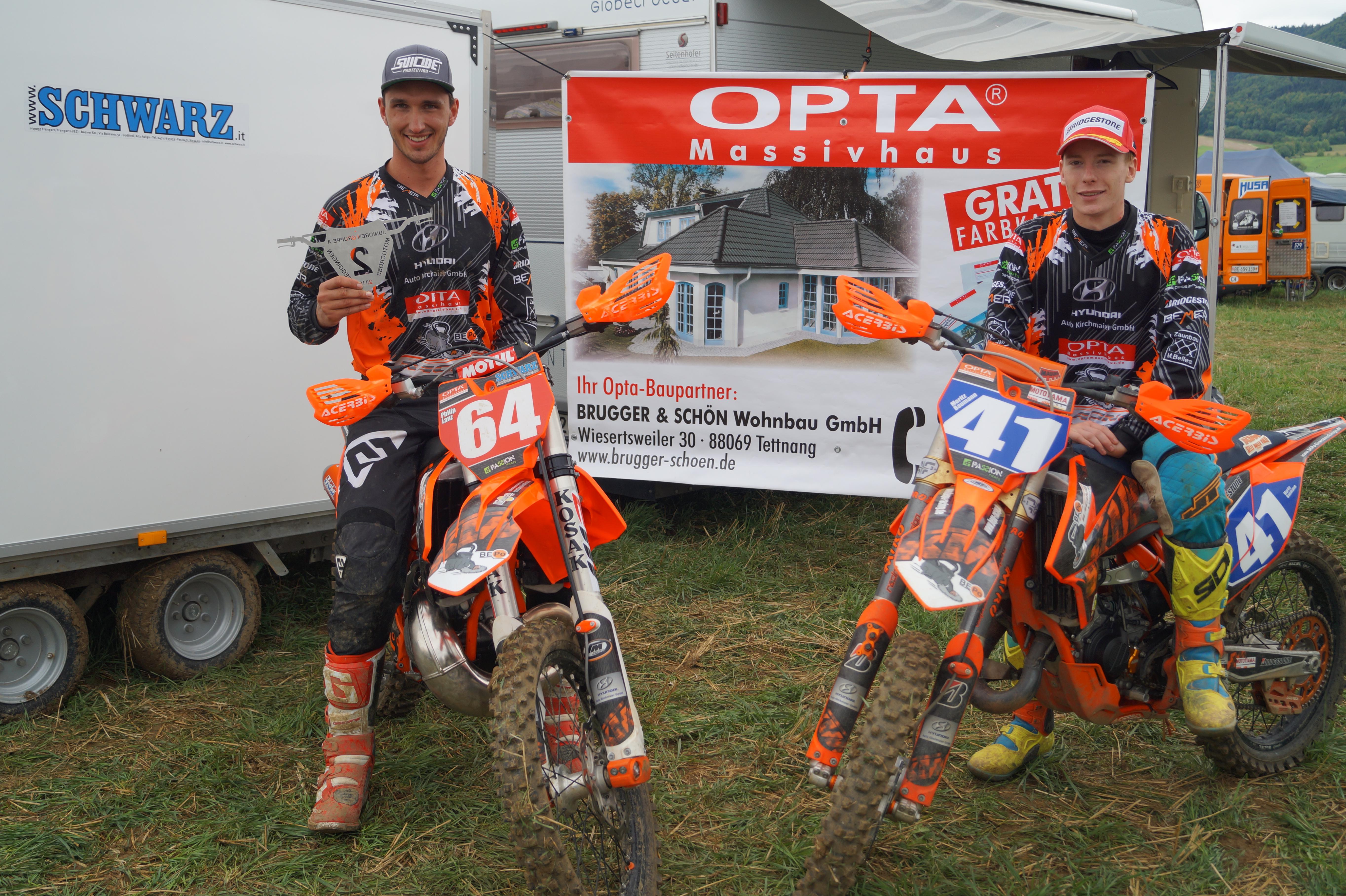 MSC Langnau Fahrer erfolgreich in der Schweiz